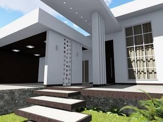 Residência LI por Esfera Engenharia + Arquitetura Moderno