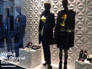 WallArt 3D Walldecor in fashion store Milano:   by WallArt 3D Wall Decor
