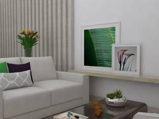 Living room by Anna de Matos - Designer de Ambientes e Paisagismo