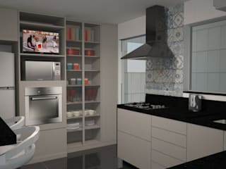 Modern Kitchen by Anna de Matos - Designer de Ambientes e Paisagismo Modern