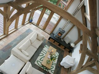 Mill O Braco - Family Home Rustic style living room by Retool architecture Rustic