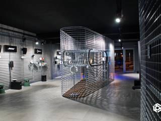 Protyp - Arouca: Lojas e espaços comerciais  por LIA - LOJA DE ILUMINAÇÃO ,Industrial