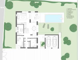 Ville VLI di Studio Pé - Pè Nicola architetto Moderno