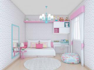 Nursery/kid's room by Anna de Matos - Designer de Ambientes e Paisagismo