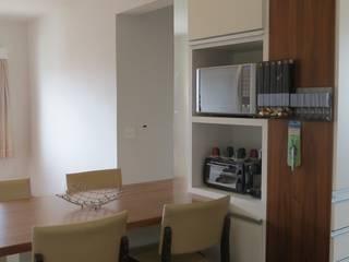 Apartemento Campo Belo:   por Paula  Makdissi arquitetura e interiores