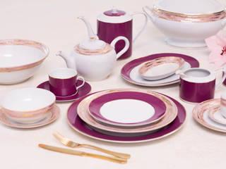 Porcel - Indústria Portuguesa de Porcelanas, S.A. ComedorCristalería y vajilla Porcelana Morado/Violeta