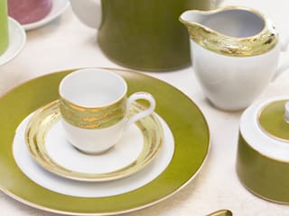 Porcel - Indústria Portuguesa de Porcelanas, S.A. JadalniaSztućce i szkło Porcelana Zielony