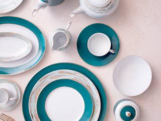 Porcel - Indústria Portuguesa de Porcelanas, S.A. JadalniaSztućce i szkło Porcelana Niebieski