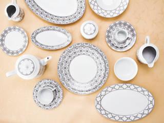 Porcel - Indústria Portuguesa de Porcelanas, S.A. JadalniaSztućce i szkło Porcelana Czarny
