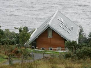 Long House Retool architecture Scandinavian style houses Aluminium/Zinc Metallic/Silver