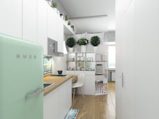 Scandinavian style kitchen by Ёрумдизайн Scandinavian