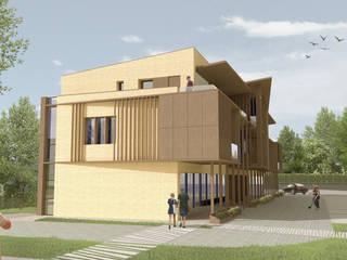 ExM Complesso d'uffici moderni di Studio Pé - Pè Nicola architetto Moderno