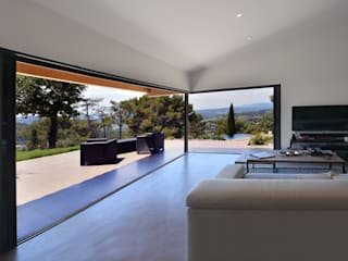 Living room by Atelier Jean GOUZY