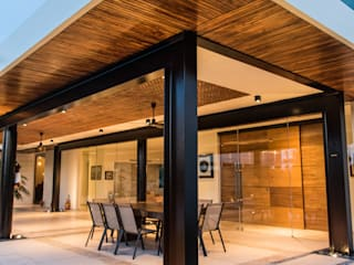 CC24 Casas modernas de AMEC ARQUITECTURA Moderno