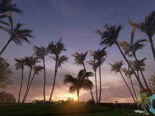 Taman Tropis Oleh PALMA CONCEPT Tropis