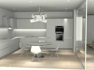 Minimalist dining room by carlo tosin Minimalist
