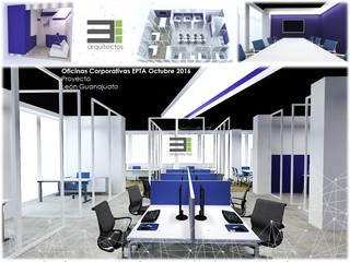 Oficinas en León Guanajuato de TRES arquitectos Moderno