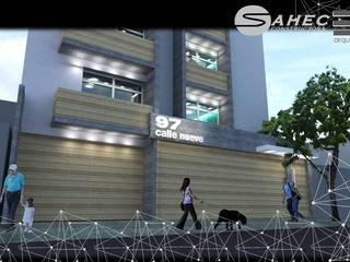 Edificio de departamentos San Pedro de los Pinos Ciudad de México de TRES arquitectos