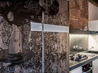 studioQ Cocinas de estilo industrial
