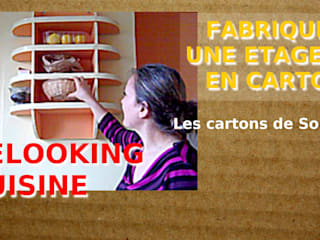 Modern kitchen by Les cARTons de Sophie Modern
