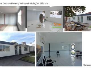 Salas de aula finalizadas:   por Gustavo Bomfim ARQUITETURA E URBANISMO
