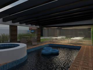 Piscines  de style  par DUOBUS M + L arquitectos
