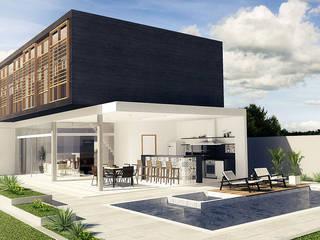 Morada do Sol Casas modernas por Escritório de Arquitetura Eraldo Rocha Moderno