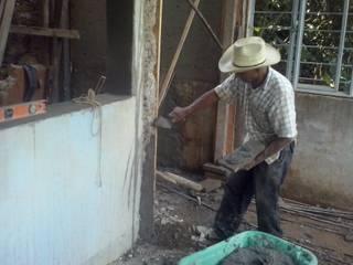 remodelación integral:  de estilo  por MACROSS construcciones