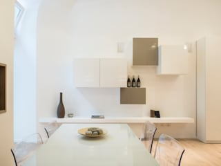 modern Dining room by STUDIO ACRIVOULIS      Architettra + Interior Design