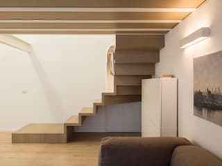Corridor, hallway by STUDIO ACRIVOULIS      Architettra + Interior Design