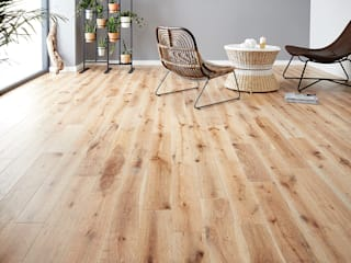 York by Woodpecker Flooring Rustic Solid Wood Multicolored
