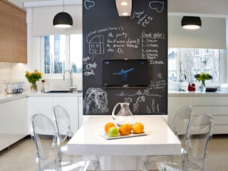 Ulus Y Evi Modern Mutfak Parlaq Interiors Modern