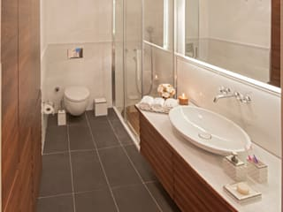 Ulus Y Evi Modern Banyo Parlaq Interiors Modern