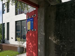 Moderne huizen van 洪文諒空間設計 Modern