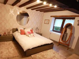 Habitaka diseño y decoración Rustic style bedroom Wood White