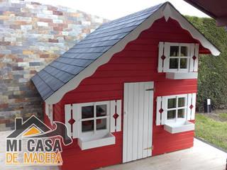 Caseta de madera infantil Tom:  de estilo  de MI CASA DE MADERA - SOLICITA PRESUPUESTO info@micasademadera.com
