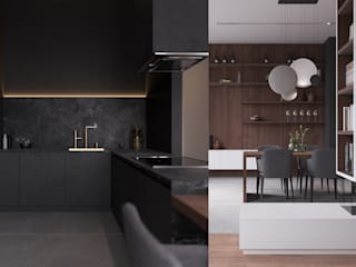 Kitchen by GN İÇ MİMARLIK OFİSİ,
