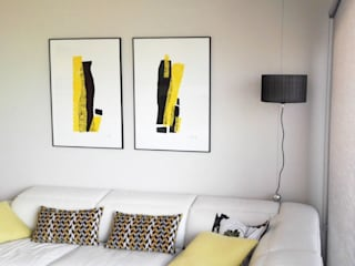 Habitaka diseño y decoración Living roomAccessories & decoration Yellow