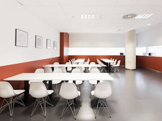 M3 Office Comedores de estilo ecléctico de Fran Bordell Ecléctico