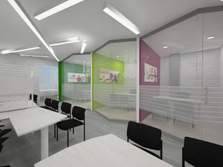 diseño de oficinas de Dies diseño de espacios Minimalista