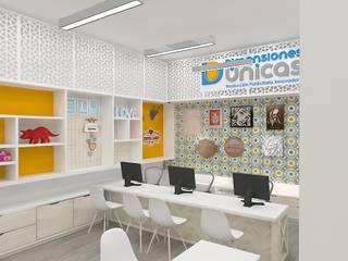 Diseño de oficinas de Dies diseño de espacios Escandinavo