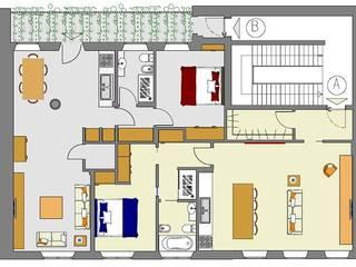 Soluzione di progetto: Case in stile in stile Moderno di Architetto De Grandi