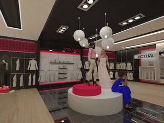 Diseño tienda de Dies diseño de espacios Moderno