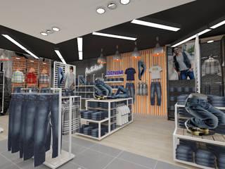 Diseño tienda de ropa de Dies diseño de espacios Moderno