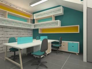 Oficinas de Dies diseño de espacios Escandinavo