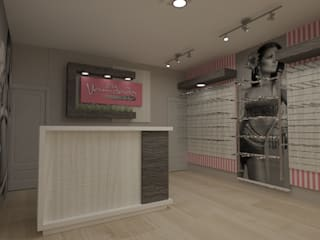 Tienda ropa interior de Dies diseño de espacios Moderno