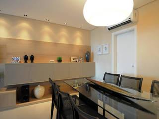 APT CM: Salas de jantar  por ESPAÇO PROJETO,Moderno