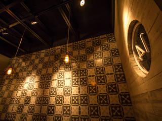 Osteria 14: Restaurantes de estilo  por LF Oficina de Arquitectura