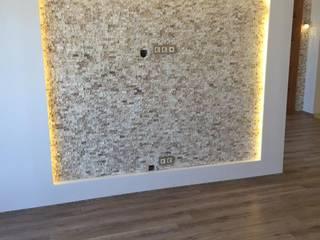 Narlıdere İzmir Komple Anahtar Teslim Daire Tadilatı Modern Çalışma Odası Lens İnşaat Elektrik Elektronik San.Tic.Ltd.Şti. Modern