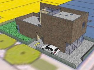 3d model ontwerp:   door architectuurstudio Kristel